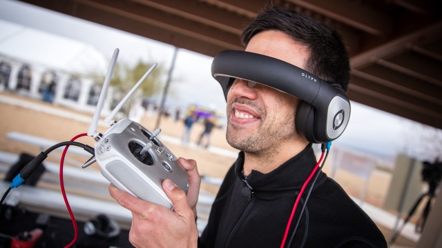 Flying FPV Drones with Avegant Glyph Headset