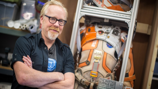 Adam Savage Inspects the Spacesuit from The Martian!