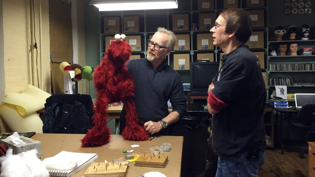 Photo Gallery: Adam Savage's One-Day Puppet Build
