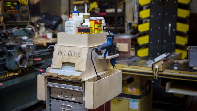 Inside Adam Savage's Cave: Glue and Paint Carts