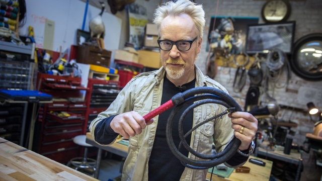 Show and Tell: Adam Savage's New Bullwhip
