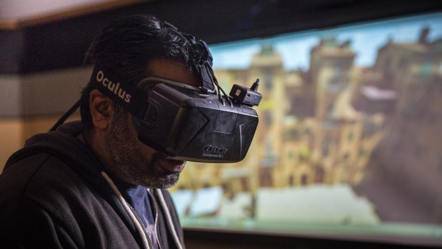 Tested Visits Stanford's Virtual Reality Lab!