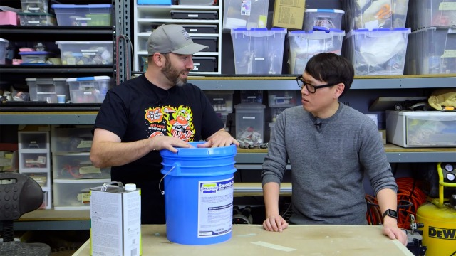 Shop Tips: How To Pour from Large Containers