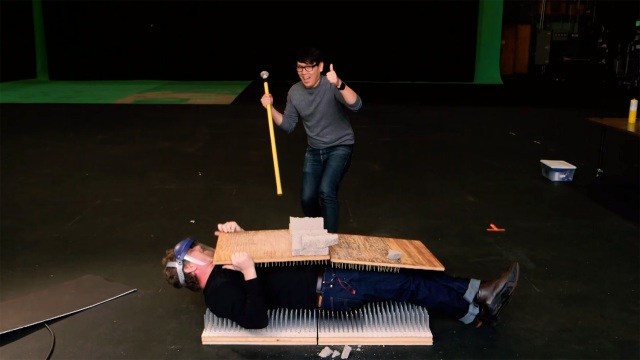 Simple Feats of Science: Bed of Nails