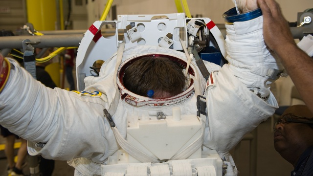 The Joy and Pain of Wearing NASA's Spacesuits