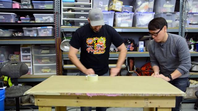 Shop Tips: Covering Your Work Tables