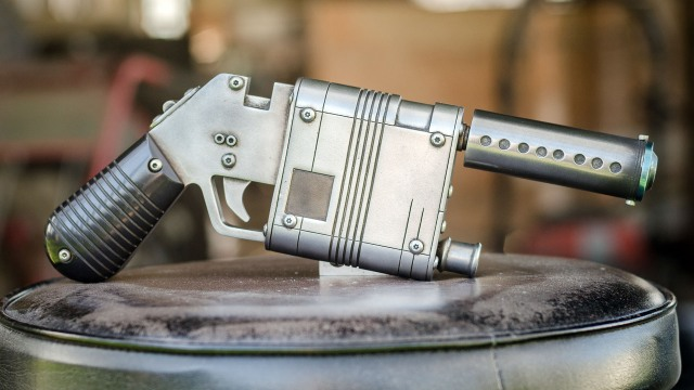 Show and Tell: Rey's Blaster Replica Kit!