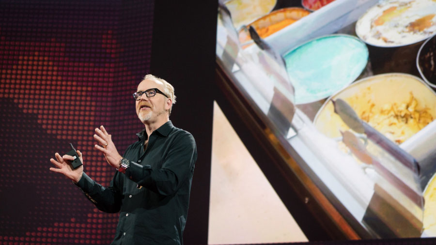 Adam Savage speaks at TED2016 - Dream, February 15-19, 2016, Vancouver Convention Center, Vancouver, Canada. Photo: Bret Hartman / TED