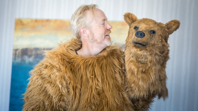 Adam Savage Incognito as a Bear at Comic-Con 2016!