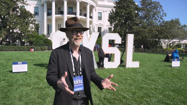 Adam Savage at The White House's South by South Lawn Festival!