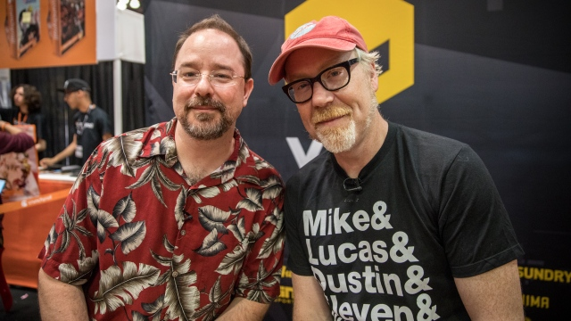 Adam Savage and John Scalzi Chat Sci-Fi!