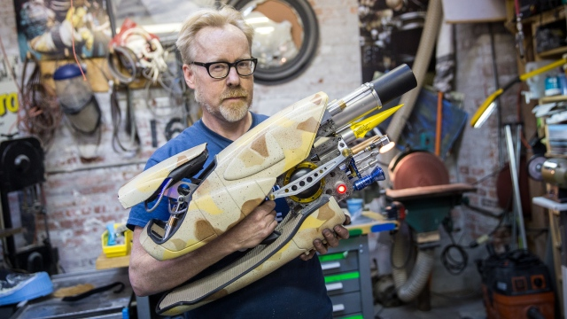 Adam Savage's Completed Zorg ZF-1 Prop Replica!