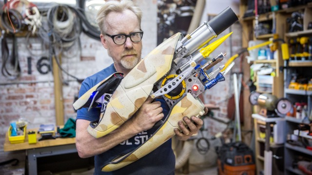 Photo Gallery: The Making of Adam Savage's Zorg ZF-1 Prop Replica!