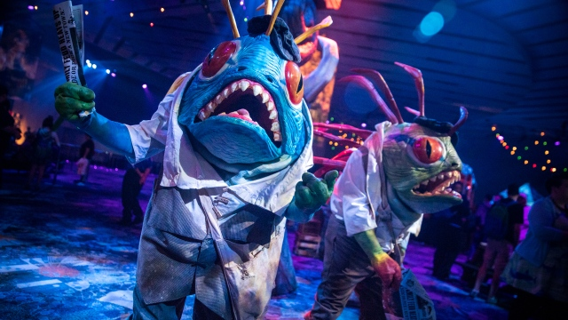 Making Murloc Costumes for BlizzCon 2016!