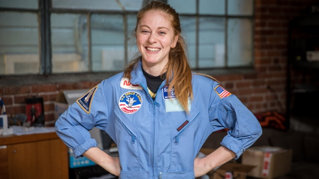Tested Mailbag: Simone's Space Camp Jumpsuit!