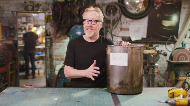 Adam Savage Gives a Snowball a Chance in Hell – Unimpossible Missions