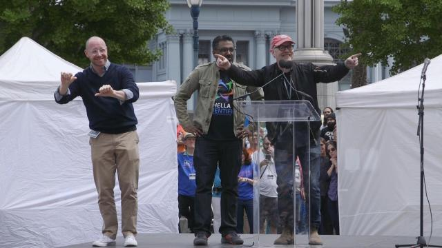 Adam Savage's Speech at the March for Science