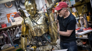 Adam Savage's One Day Builds: Chewbacca and C-3PO!
