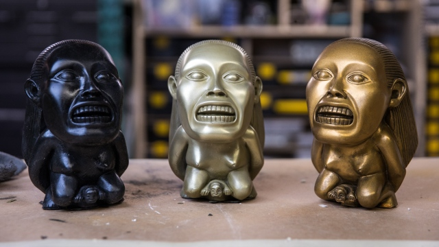 This Old FX Shop: Cold Casting Idols