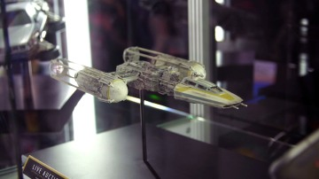 Screen-Used Model Miniatures at Comic-Con 2017