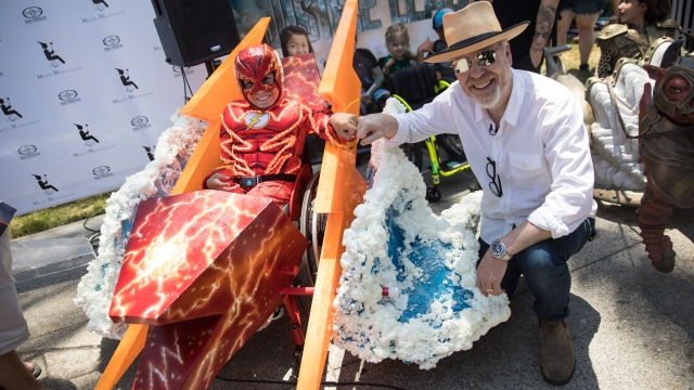 Magic Wheelchair Makes Awesome Costumes for Kids