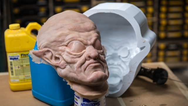 This Old FX Shop: Silicone Maskmaking from 3D-Printed Mold