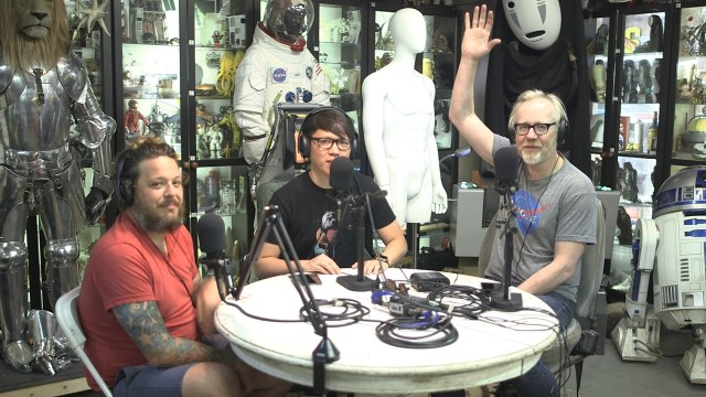 Supertroopers, Part Deux –  Still Untitled: The Adam Savage Project – 10/17/17