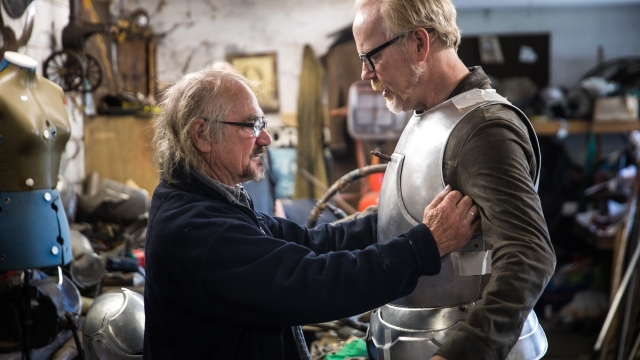 Adam Savage's King Arthur Armor Build, Part 6