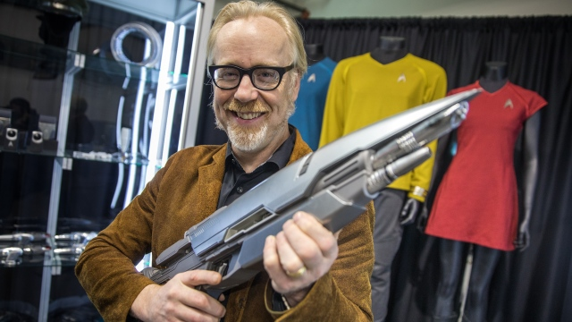 Adam Savage Explores Star Trek Costumes and Props!
