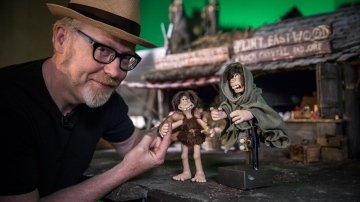 Adam Savage Meets Early Man Director Nick Park!