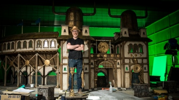 Designing the Stop-Motion Sets of Aardman Animation's Early Man!