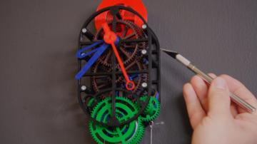 Let's Build: 3D-Printed Mechanical Clock, Part 2