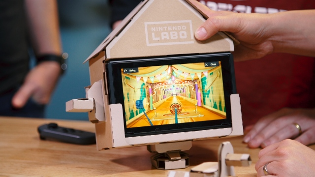 Nintendo Labo Variety and Robot Kit Review!