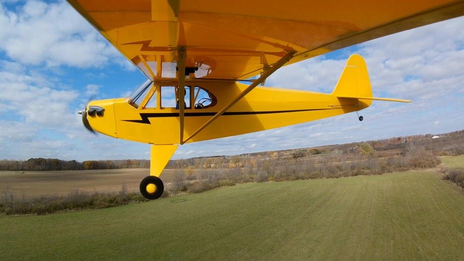 Flying any RC airplane is fun. But there is a heightened sense of pride when you've built it yourself.