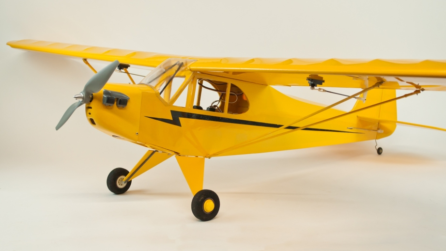 There are thousands of RC Cub models out there. But you won't find another that is exactly like the one you've built yourself!