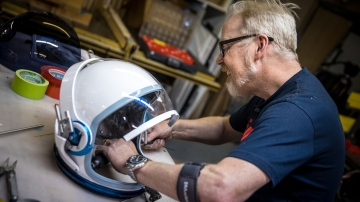 Adam Savage's One Day Builds: NASA ACES Spacesuit Helmet!