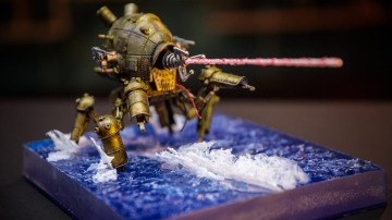 Model Behavior: Diorama Water Effects!