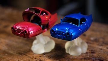 Model Behavior: Shiny Model Cars!