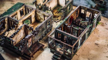 Model Behavior: Aging Miniature Houses