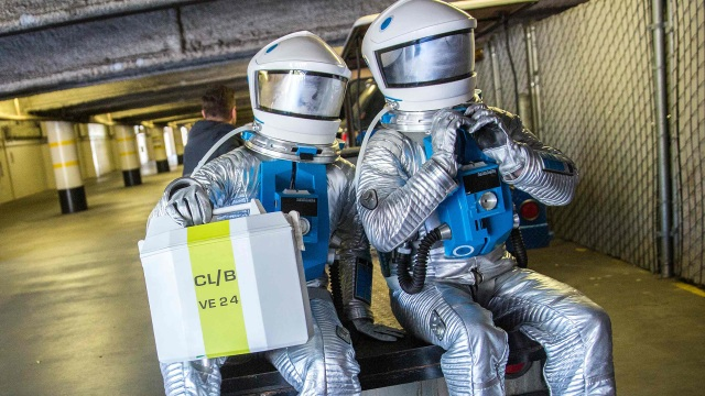 Offworld: Spacesuits in Science Fiction Film