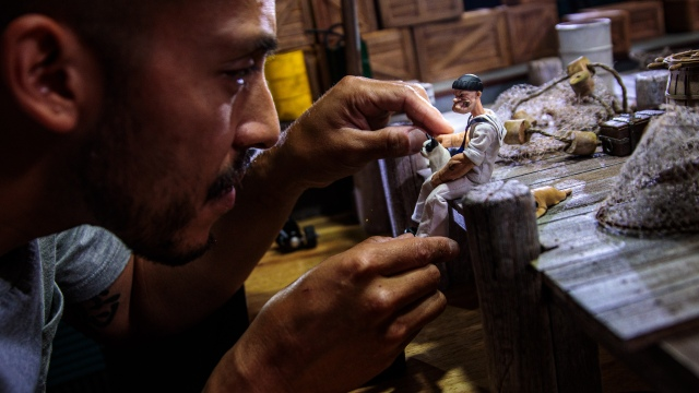 Toy Photography with Miniature Sets and Dioramas