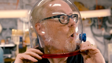 Inside Adam Savage's Cave: New Spacesuit Hardware!