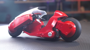 Model Behavior: Kaneda's Motorcycle from Akira!
