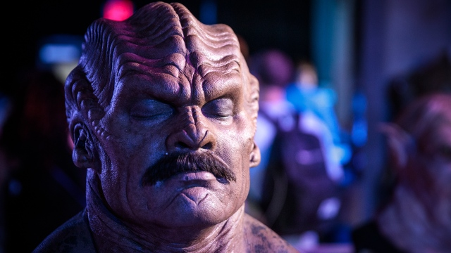 The Orville's Costumes, Creatures, and Ship Miniature!