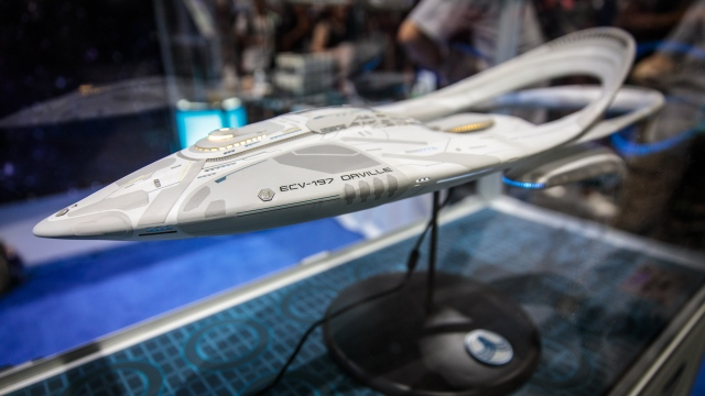 KorbenFX's USS Orville Ship Model Replica