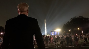 Adam Savage Goes Behind the Scenes of Apollo 50: Go for the Moon!