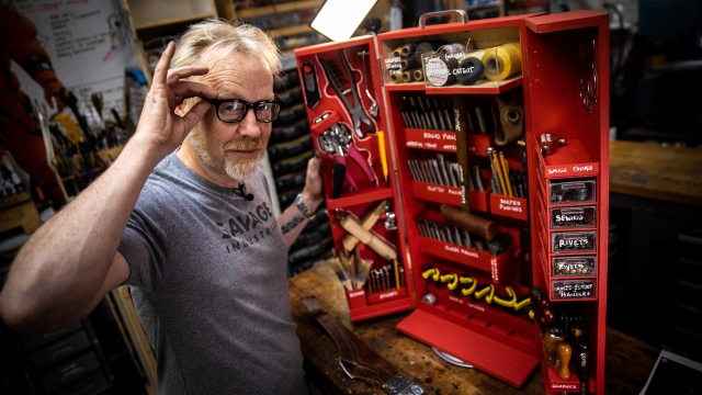Adam Savage's New Leatherworking Box!