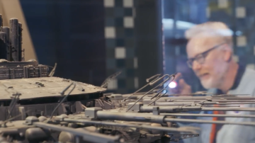 Adam Savage Examines the Mother Ship Model from Close Encounters of the Third Kind!
