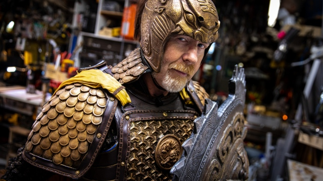 Adam Savage's Gorgeous Great Wall Armor!