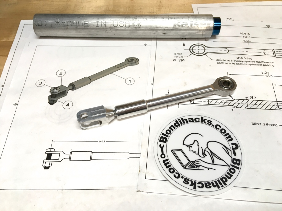 PART #31: Top 3 linkage assembly